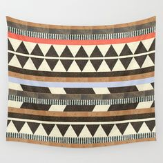 DG+Aztec+No.1+Wall+Tapestry+by+Dawn+Gardner+-+$39.00