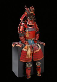 Yokohagidō tōsei gusoku Saotome Iyuenari (helmet) and Ichiguchi Yoshikata (mask) Early to mid Edo period: 17th century (helmet); 18th century (mask and armor) © The Ann & Gabriel Barbier-Mueller Museum, Dallas
