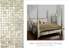 Oh my, a Mother of Pearl bed!