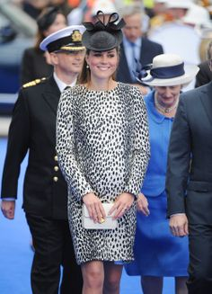 Kate Middleton Attends Princess Cruises Ship Naming Ceremony