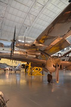 """(Posted from tinymachining.com)  Some cool precision element producers images: Steven F. Udvar-Hazy Center: B-29 Superfortress """"Enola Gay"""" panorama  Image by Chris Devers Quoting Smithsonian National Air and Space Museum 