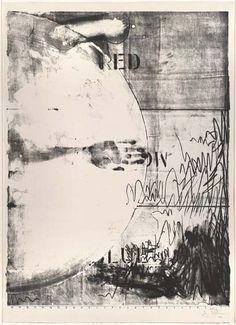 Jasper Johns, Hatteras, 1963 Lithograph Dimensions: 38 x 29 x cm); sheet: 41 x 29 x 75 cm) Neo Dada, Mises En Page Design Graphique, Art Graphique, Robert Rauschenberg, Jasper Johns, Roy Lichtenstein, Pop Art, Andy Warhol, David Hockney