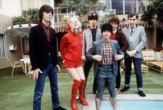 "BLONDIE ""Frank Infante, Debbie Harry, Jimmy Destri, Clem Burke, Nigel Harrison, and Chris Stein"" by marcia.king99, via Flickr"