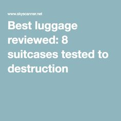 Samsonite Luggage Inova HS Spinner 20 Inch Review - BestLugage ...