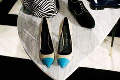 womensweardaily:    Footwear from Pierre Balmain.    Photo by Katharina Hesse