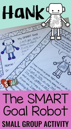 SMART goal introduction materials, a student activity, and a goal sheet. The student activity is in a mini-story format that would work well for first and second graders, or students with similar cognitive skills. It guides students through the process of setting SMART Goals in an engaging and easy to understand format. Social Emotional Workshop
