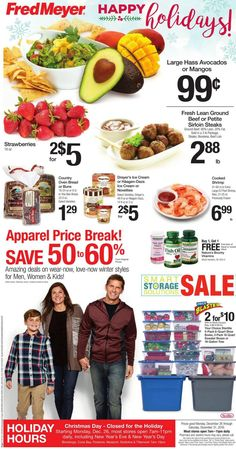 Fred Meyer Weekly Ad Circular December 26 - 31