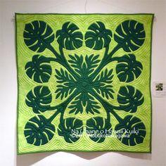 Beautiful Hawaiian quilt!