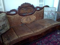 LOVE this repurposed couch!!!