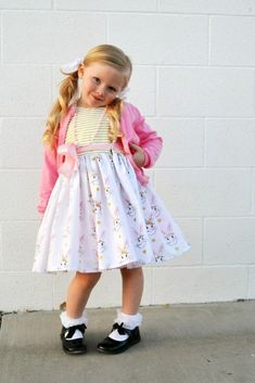 Easter Dresses for 2016 - Simple Simon and Company Sewing Patterns Free, Free Sewing, Girls Easter Dresses, Flower Girl Dresses, Inspiration For Kids, Learn To Sew, Simple, Fabric Design, Riley Blake