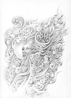 Ancient Mind by OoooKATIoooO on DeviantArt