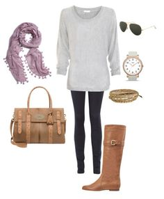 leggings and long sweater. great fall outfit.