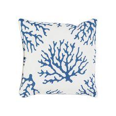 Decor 140 Brilva Indoor / Outdoor Throw Pillow, Blue (Navy)