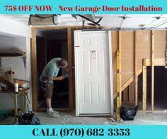 75$ OFF NOW - New Garage Door Installation Fort Collins    Call now (970) 682-3353 or Visit on www.mikegaragedoorrepair.com