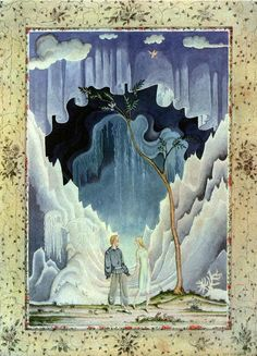 Fairy-tales of Hans Christian Andersen Illustrations by Kay Nielsen - The Snow Queen