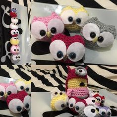 Baby owls! Love making these little cuties