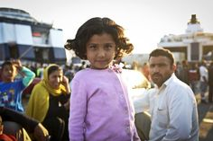 80% of the 1m people who've fled to Europe in 2015 came via Greece. Read their stories: http://bit.ly/1NAqVLb
