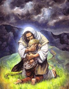 Jesus Is Our Refuge. Jesus hugging someone, prophetic art. Portrait Studio, Photo Portrait, Religion, Image Jesus, Jesus Art, Prophetic Art, Biblical Art, Jesus Pictures, Heaven Pictures
