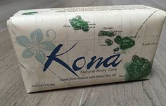 Kona Natural Body Care Bar Soap  3pack *** You can find out more details at the link of the image.(This is an Amazon affiliate link and I receive a commission for the sales) #BodyCleansers