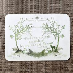 Woodland Wedding Invitation And Details / RSVP Card