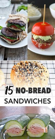 Paleo sandwiches | No Bread Sandwich Solutions