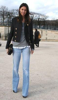 >>> Geraldine Saglio:- Photos from The Fashion Spot Emmanuelle Alt, Paris Fashion, Winter Fashion, Women's Fashion, Anna, Fashion Capsule, Light Wash Jeans, Fashion Tips For Women, Fashion Ideas