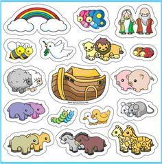Thema de ark : stokfiguren