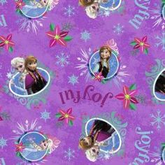 Disney Frozen Fabric Sisters Merry And Joyful By Spring Creative