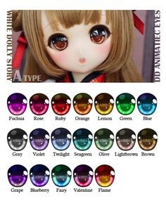 - W.D.S - DD Animatiec eyes Type-A | by - White Dolly Story -