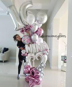 45 new Ideas birthday sweet 16 girls Birthday Goals, Sweet 16 Birthday, 16th Birthday, Girl Birthday, Birthday Parties, Birthday Ideas, Balloon Bouquet, Balloon Garland, Balloon Decorations