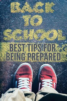 Best School Day Tips for Being Organised and Prepared - Tips for home organisation, school lunches and starting school for preschoolers & kindergarteners