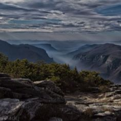 Linville Gorge, Blowing Rock,NC...the most beautiful place on earth...forget the alps or cali mtns...these are the best