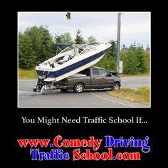 You might need Traffic School if… #comedy #trafficschool #trafficschoolflorida  #followme   https://www.comedydrivingtrafficschool.com