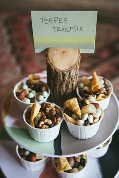 Great idea when entertaining your friends who are health nuts.