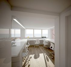 Dental laboratory refurbishment   Francesco Cardano - Interior Designer - London - Gravina