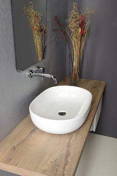 SAPHO CALEO keramické umyvadlo 59x41x14 cm, na desku ( CA590 ) | Koupelny SEN