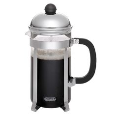 This carafe is perfect for a hot cup of java in the morning. This French press helps extract your coffee's aromatic oils and subtle flavors.