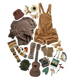"""the girl i found in the forest • contest : earth"" by olivia-cc ❤ liked on Polyvore featuring Pull&Bear, Polaroid, Steve Madden, CO, River Island and Pier 1 Imports"
