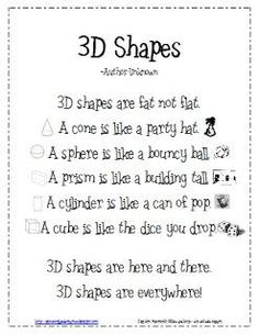 math worksheet : 1000 images about kindergarten math on pinterest  3d shapes  : Math 3d Shapes Worksheet