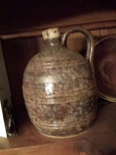 Saggy Jug Pottery -earlier piece, probably around 2007, in the collection of a friend.