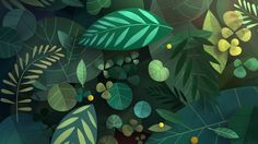 A world of little insects and creatures beneath the leaves.  Utterly Charming 42-second gem.   Directed by Burcu and Geoffrey acmefilmworks.com
