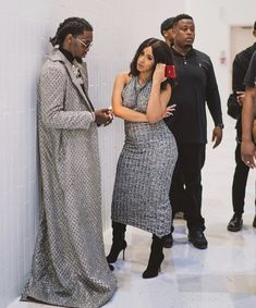 Female Rap Artists, Latin Artists, Celebrity Couples, Celebrity Style, Laquan Smith, Nyfw 2017, Young And Rich, Famous Couples, Cardi B