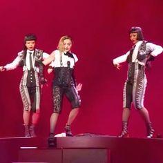 #Madonna #laislabonita #rebelhearttour #ayasato#ayasato1006 #ayabambi #ayasatobambi #bambisato#bambi_0615 #madonnadancers