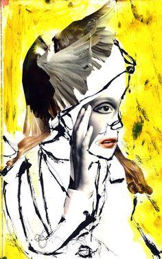 Sketchbook + Collages - Pia Hakko