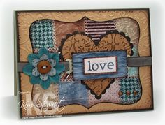 Love these quilt cards by Kim.