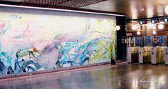 Estação de Metro Oriente, Parque das Nações - Lisboa