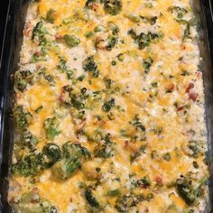 Perfect keto dish for Easter Sunday!😍🐣Broccoli Cauliflower Rice Casserole from . Ingredients * cup of real bacon… Cauliflower Rice Casserole, Ketogenic Recipes, Keto Recipes, Lose 20 Lbs, Fresh Chives, Weight Loss Meal Plan, Diet Pills, Stuffed Peppers