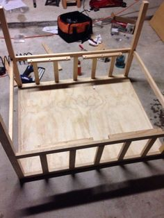"""Hello everyone, my name is Darko and this in my first Instructables.Task to build bookshelf chair aka """"biblio-chaise"""" that can hold as many as 18 feet of. Chair Redo, Diy Chair, Dump Furniture, Furniture Dolly, Office Waiting Room Chairs, Wrought Iron Patio Chairs, Patio Chair Cushions, Cafe Chairs, Lounge Chairs"""
