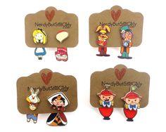 Wonderland Cuties Cling Earrings