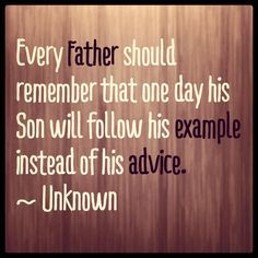 dad and son quotes - Google Search